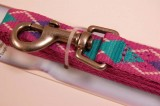 RECYCLED POLYESTER DOG LEASH PINK