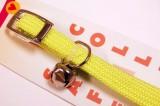 cat collar braided elastic