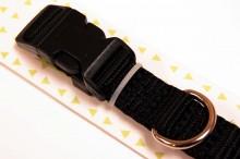 Black Nyon Dog Small Collar