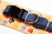 Organic cotton dog collar